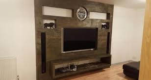 tv wall design and installation qi