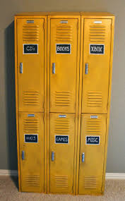 ... Bedroom, Charming Kids Locker Furniture Locker Dresser Ikea With 6 Door  Locker Cupboard Yellow Color ...