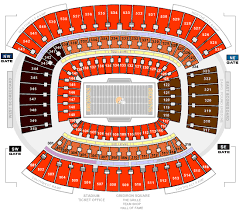 Paul Brown Stadium Seating Chart With Seat Numbers