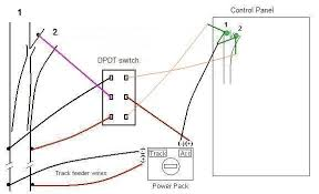 which switch to use for turnouts? trainboard com the wiring kato unitrack switches at Dpdt Switch Wiring Diagram For Kato