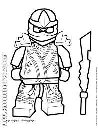 Lego Ninjago Coloring Pages Print Iifmalumniorg