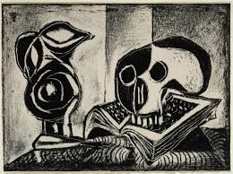 black jug and skull pablo picasso tate 1946
