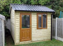 40 10x8 cottage style t g tan shed pvc door window black box profile roof