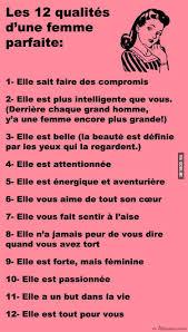 Les 12 Qualités Dune Femme Parfaite Québec Meme Conseil