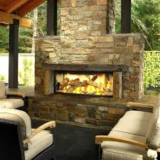 outdoor fireplace design built in gas fireplaces