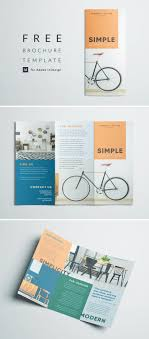Free Graphic Design Brochure Templates Simple Tri Fold Brochure Free Indesign Template