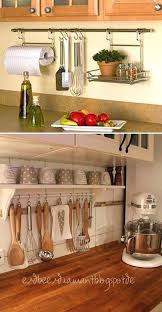 curtain rod with hooks to hang up utensils is a simple way help you get rid 8 piece duo kitchen utensil