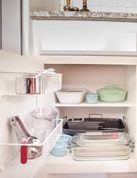 don t overlook cabinet doors when organizing a kitchen inexpensive wire shelves are great
