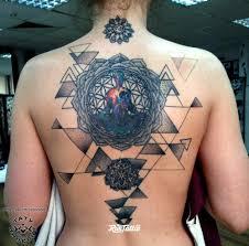 мандала значение татуировок в томске Rustattooru
