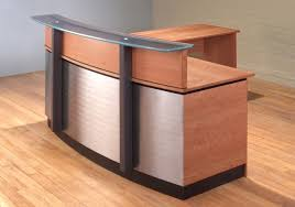 stainless steel reception desk l shaped reception desk for modern residence tall reception desk prepare