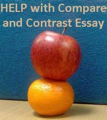 how to start a compare and contrast essay compare and contrast essay help