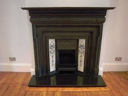 edwardian fire place fireplace and granite hearth for in wembley middle preloved