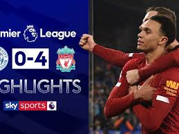 Liverpool are really well known for their high press but it's not often well hello there, and welcome to our liveblog for liverpool vs leicester, a game which might. Leicester 0 4 Liverpool Match Report Highlights