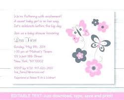 Free 18th Birthday Invitation Templates Inspiration Baby Girl 48st Birthday Invitation Templates Free Shower Invitations