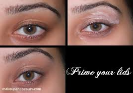 apply a silvery grey eye shadow on your lids leaving the outer corner