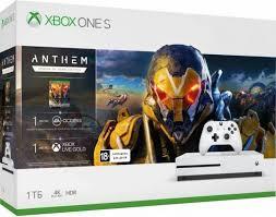 Игровая <b>приставка Microsoft Xbox</b> One S 1Tb + Anthem + <b>Xbox</b> ...