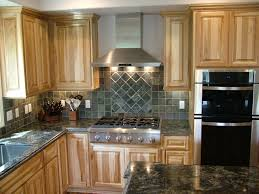 Hickory Kitchen Cabinets Kitchen Colors Hickory Cabinets Quicuacom