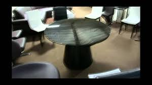 modern round dining table with rotating extensions 866 397 0933 lafurniture com you