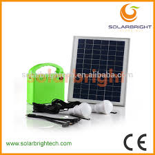 solarbright portable mini small house home emergency solar energy power lighting kit off grid solar system