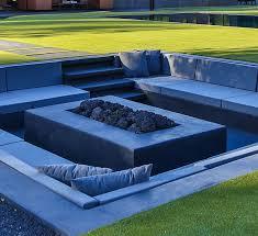 Modern Backyard Design Impressive Backyard Design Idea Create A Sunken Fire Pit For Entertaining