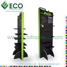 Retail Product Display Stands Retail Advertising Cartoon Cardboard Floor Display Stands For 8