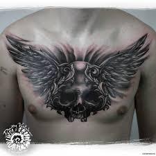 картинки череп с крыльями