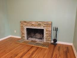 black slate fireplace surround slate tile fireplace surround