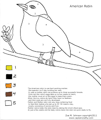 Bird Coloring Pages For Modg 4th