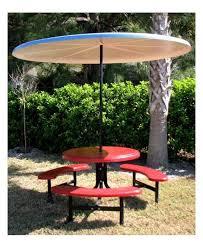 8 foot round starburst fiberglass umbrella with powder coated black steel 1 1