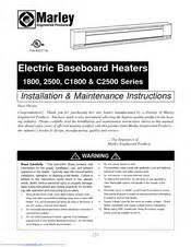 electric baseboard heater thermostat wiring diagram images wiring wiring instructions for marley 2500 series electric