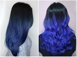 Blue Hair Color Trends 2018 Ombre