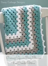 Granny Square Blanket Pattern