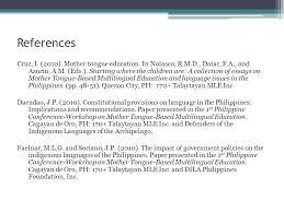 michael carlo c villas leyte normal university tacloban city 31 references cruz