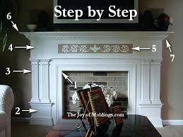 faux fireplace mantel easy fireplace plans diy faux fireplace mantel and surround