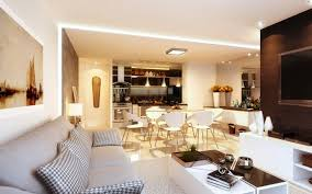 Open Plan Living Room Decorating Variety Of Open Plan Living Room Designs With Luxury Interior