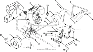 bunton bobcat ryan lb1401 00 01 optimax blower parts diagram for zoom
