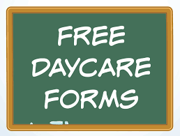 daycare forms and sample documents