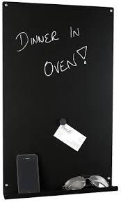 Black Magnetic Memo Board Vertical Magnetic Memo Board Black Office accessories 69