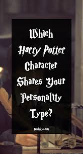 Which Harry Potter Character Shares Your Myers Briggs Type