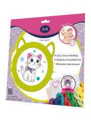 """<b>Набор</b> для вышивания крестиком """"Котятки"""" <b>D&M</b> 9635564 в ..."""