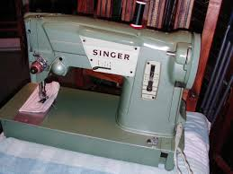 Green Singer Sewing Machine