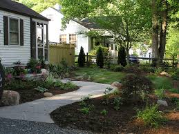 Small Picture Bungalow Front Garden Design The Garden Inspirations