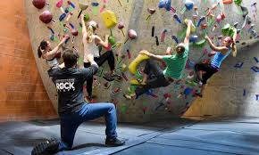 39 off at adventure rock indoor climbing gym  on artificial rock climbing wall cost with adventure rock climbing gym up to 39 off brookfield wi groupon