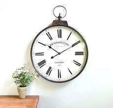 watch wall clock vintage metal