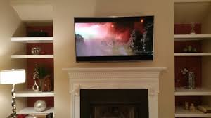 Branford CT Mount Tv Above Fireplace  Home Theater InstallationMounting A Tv Over A Fireplace