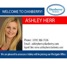 Welcome! We are pleased to announce the addition of Ashley Herr to our  Danberry Westgate Office! Contact Ashley Herr… | Westgate, Real estate  companies, Real estate