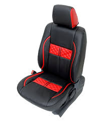 club class car seat cover for wagon r design turbo black red