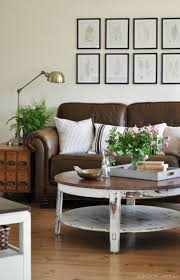 Living Room Design With Brown Leather Sofa 10 Beautiful Brown Leather Sofas