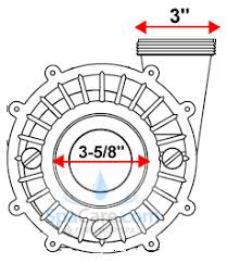 executive frame waterway pump hp volts speed x  executive 56 frame waterway pump 4 0 hp 230 volts 2 speed 2 5 x 2 3721621 13