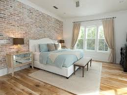 this is kind of what I'm thinking, the wall behind the bed exposed  Brick  Wall In BedroomExposed ...